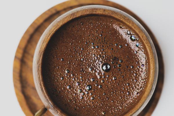 chocolademelk met koffie